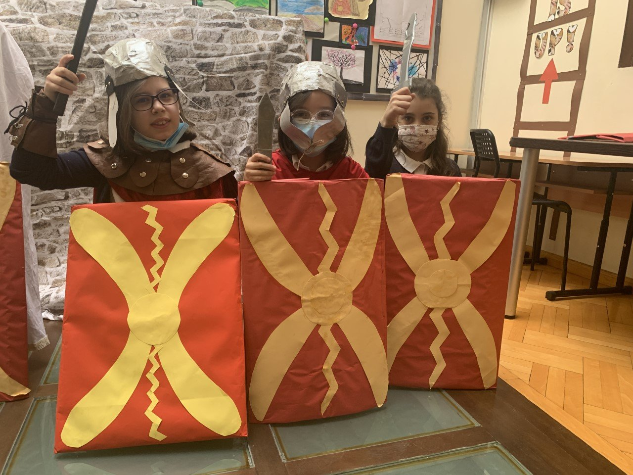 Year 4's Living History Of The Romans In Britain